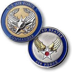 U.S. Air Force Commander Coin