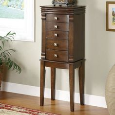 (click twice for updated pricing and more info) Mirror Jewelry Armoires - Transitional Walnut Finish Jewelry Armoire http://www.plainandsimpledeals.com/prod.php?node=46850=Mirror_Jewelry_Armoires_-_Transitional_Walnut_Finish_Jewelry_Armoire_-_PO2284 #jewelry_armoires