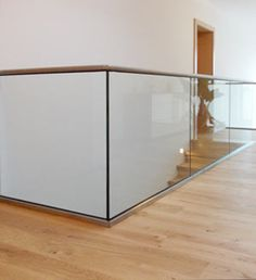 Glasgeländer von der Glaserei Lumetsberger Perg