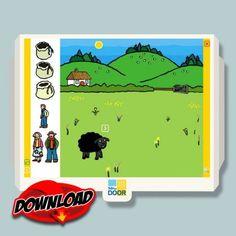 Baa Baa Black Sheep Nursery Rhyme Learning Software Download $5