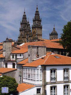 A Coruña and Santiago de Compostela