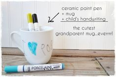 Two Shades of Pink: Grandparent Mugs