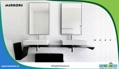 Mirrors and Bath Accessories - For Home Kerala Contact : 0484 9995808617 Visit : www. Cozy Bathroom, Small Bathroom Storage, Attic Bathroom, Master Bathroom, Kitchen Accessories, Bathroom Accessories, Accessories Shop, Dream Bathrooms, Beautiful Bathrooms