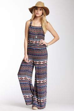 Flying Tomato Print Jumpsuit - cute for a summer music festival!