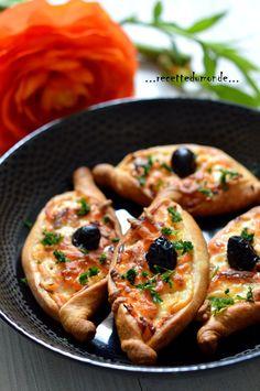 Mini pizza au saumon - idée recettes Ramadan
