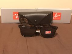 Ray-Ban RB2132 New Wayfarer 902 58 Tortoise FrameDark Lenses  fashion   clothing 52394f644e13
