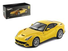 Hot wheels Ferrari F12 Berlinetta Yellow Elite Edition 1/43 Diecast Car Model by Hotwheels - Rubber tires. Brand new box. Detailed interior, exterior. Comes in plastic display showcase. Dimensions approximately L-4 inches long.-Weight: 1. Height: 5. Width: 9. Box Weight: 1. Box Width: 9. Box Height: 5. Box Depth: 5