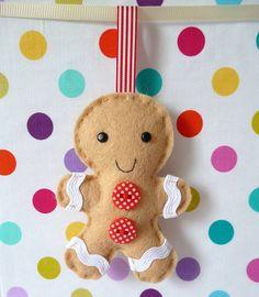 Gingerbread Man Decoration Mini Kit