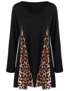 GET $50 NOW | Join RoseGal: Get YOUR $50 NOW!http://www.rosegal.com/plus-size-t-shirts/plus-size-leopard-print-insert-986321.html?seid=067c0r2grtr5lvfuflpfutr4o4rg986321