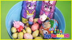 Huevos de peppa pig - Canasta con Huevos de pascua de Peppa Pig - Peppa pig en español ToysForKidsHD