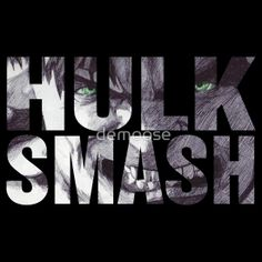 HULLLKK SMMASHHHH Available to buy on… T-Shirts & Hoodies, Stickers   #hulk #marvel #character #TheIncredibleHulk #superhero #film #DrBruceBanner