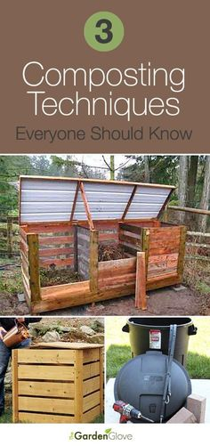Gardening Compost Flower garden tips and organic gardening tips to grow beautiful fruits and Farm Gardens, Outdoor Gardens, Modern Gardens, Outdoor Projects, Garden Projects, How To Start Composting, Urban Composting, Composting Bins, Jardin Decor