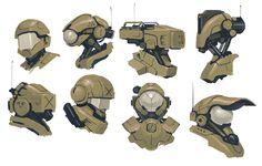 Sci fi heads by fightPUNCH