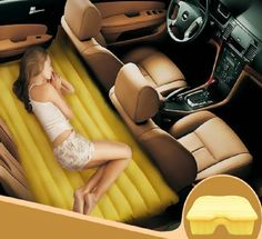 Turn The Backseat of Your Car Into a Bed With This Inflatable ...