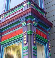 Victorian Architecture in the Castro District, San Francisco
