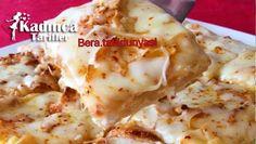 Kaşarlı Kırpık Börek Tarifi Outback Steakhouse, Turkish Kitchen, Lasagna, Mashed Potatoes, Cauliflower, Tart, Vegetables, Cooking, Ethnic Recipes
