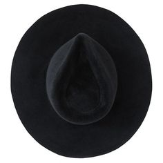 Ryan Roche Big Brim Hat, Black, 1 (€295) ❤ liked on Polyvore featuring accessories, hats, black, fillers and brimmed hat