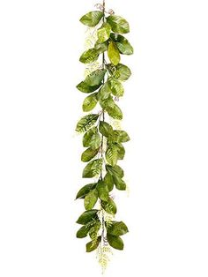 Afloral.com has trendy and affordable faux greenery garlands to create simple DIY floral wedding runners. Find beautiful green magnolia leaf and fern garlands.