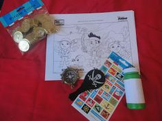 """Occasionally Crafty: Ahoy! A """"Jake and the Neverland Pirates"""" Birthday Party!"""