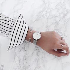 "Daniel Wellington Classic Petite Watch. Use code ""KIA15"""