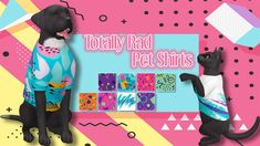 Totally Rad Pet Shirts• 8 swatches • Shirts for cats, large dogs, and small dogs • Requires Cats & Dogs EP • Credits: EA for mesh / Sims 4 Studio Download SimFileShare | MediaFire