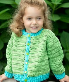 Free Crochet Pattern and Video:  Fun Time Cardigan - Video 1   The pattern is a free download from Redheart.com Pattern # WR1987