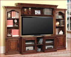 TV Stand Expandable Entertainment Center Media Wall Unit Athens by Parker House #ParkerHouse #Transitional