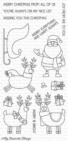 My Favorite Things Stamps - Merry Everything