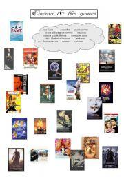 english worksheet film genres for elementary students film reviews pinterest english. Black Bedroom Furniture Sets. Home Design Ideas