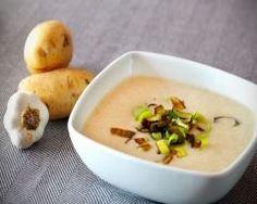 Potage aux champignons, légumes et mascarpone