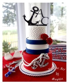 Nautical Bliss! - Cake by sophia haniff