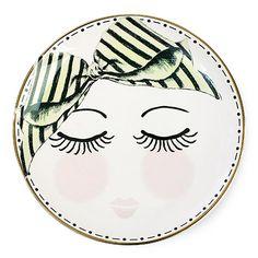 Party Ark's 'Miss Etoile Porcelain Plate'