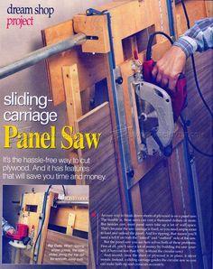 Panel Saw Plans - Circular Saw