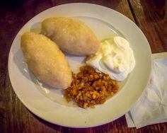Lithuanian traditional food Didžkukuliai (Also Called Cepelinai) - Potato Dumplings national dish of Lithuania. While it's considered an old, traditional recipe now, potatoes were only brought to Lithuania in the 17th century, and became widely used for food in the beginning of the 19th one..... Shawn Frank