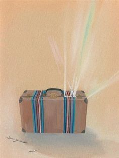 Packing Light  limited edition mini print set by groundwork, $30.00