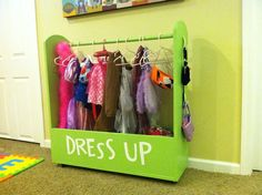 Dress Up Station - How cute!
