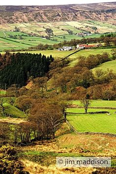 North Yorkshire Countryside, UK. It is one of our dreams to visit Yorkshire.