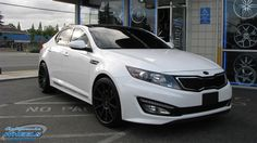 Kia after modification and/or restoration by California Wheels. Visit this section to see stunning photos with complete step by step build photos. Kia Optima Turbo, Nikki Mudarris, Black Rims, Vroom Vroom, Fast Cars, Sport Cars, Custom Cars, Dream Cars, Restoration