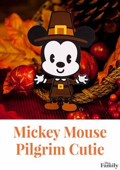 Oh boy! Add the perfect touch of magic to your Thanksgiving table with this Mickey Mouse Pilgrim Cutie. And don't forget to pair him with Minnie to complete your festive centerpiece.