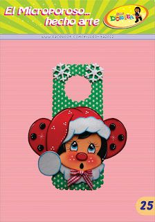 Miss Dorita: Picaporte Mariquita Dory, Paper Piecing, Christmas, Crafts, Fictional Characters, Party Invitations, Decorated Notebooks, Personalized Party Favors, Marriage Invitation Card