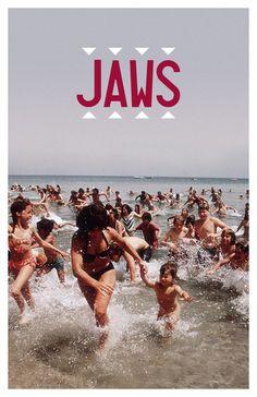 hipster-movie-posters:    JAWS  by Travis English (akastarwarskid)
