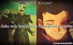 """Zuko laughed!?"" <= HAHA this."