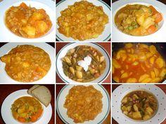 1_burtgulas-bramborovy-gulas Curry, Tacos, Ethnic Recipes, Food, Red Peppers, Meal, Essen, Hoods, Curries