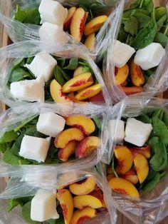 Peaches n' Cream Green Smoothie Prep Packs