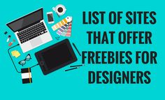 I'm sharing this list of sites where you can download free stuff for your personal and commercial design projects. Most of these are my personal choice of resources too. Make sure that you read lic…