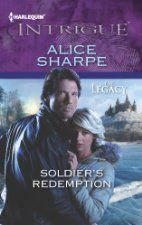 Soldier's Redemption , a Romantic Suspense novel by Alice Sharpe [Harlequin Intrigue], is today's Deal of the Day at at Diesel E-Books AND at EBook Eros (Diesel)