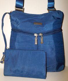 BAGGALLINI Horizon Crossbody Bag Pacific Blue NEW WITH TAG Nylon Organizer     #Baggallini #Crossbody