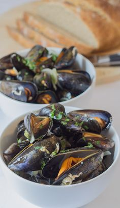 I made the French, Normandy moules mariniere classic dish here without any cream. It's, excellent for dinner parties or just for a romantic night in. And having no cream in it certainly doesn't take away any taste or flavour. Just the calories you would have put on otherwise!