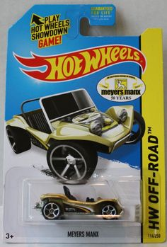 (TAS021320) - Hot Wheels Off-Road 2014 - Meyers Manx - 114/250