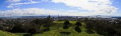Auckland Skyline Panoramic [PHOTO] Auckland, Skyline, Mountains, Nature, Travel, Viajes, Naturaleza, Destinations, Traveling